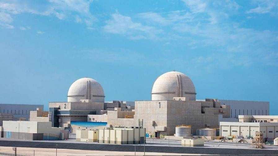 uae nuclear plant milestone power