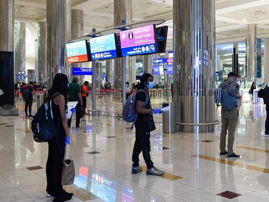 uae passengers entry countries airlines
