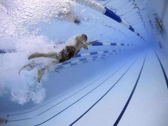 uae pools covid swimming transmission