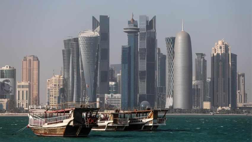 uae qatar trade transport arabia