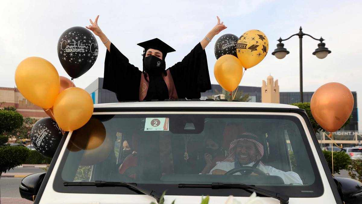 uae schools universities virtual graduations