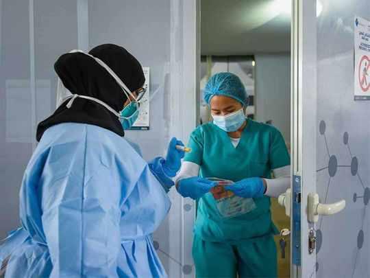 uae sotrovimab patients covid percent