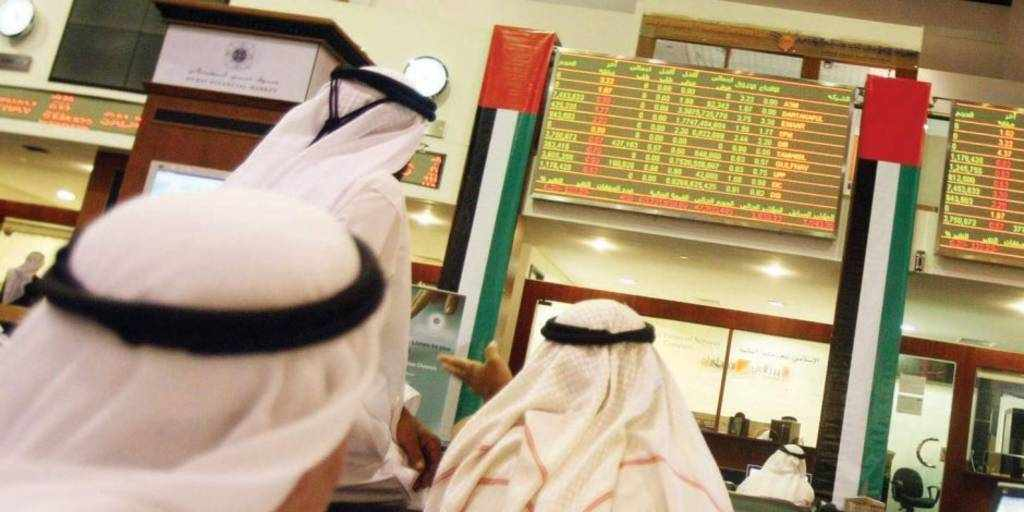 uae stock markets varied note