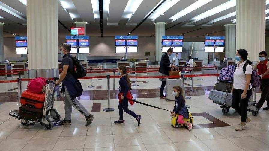 uae vaccinated travel procedures covid