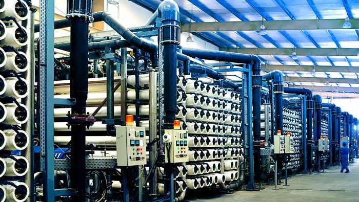 utico seawater reverse osmosis milestone