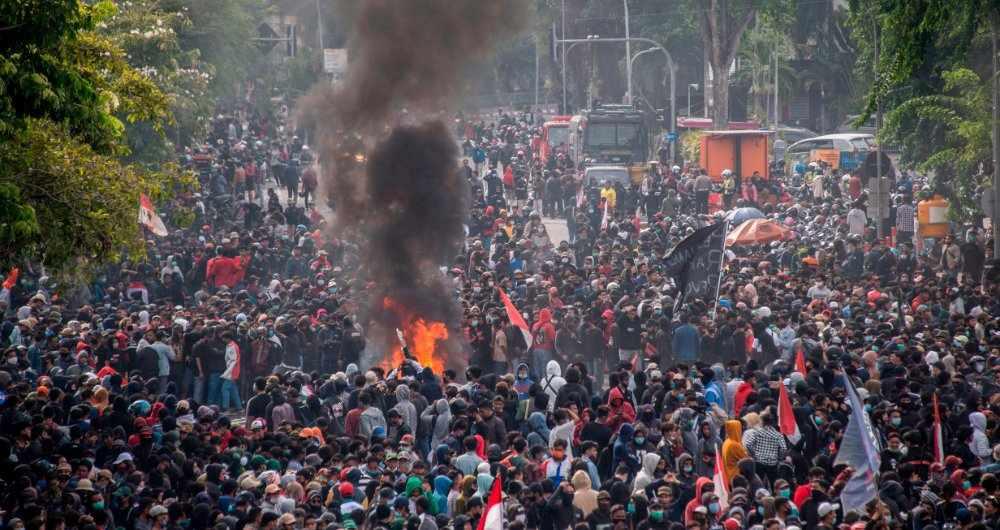 violent turn indonesians