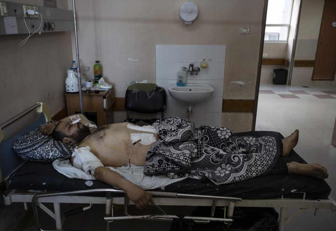 virus hospitals gaza hospital doctors