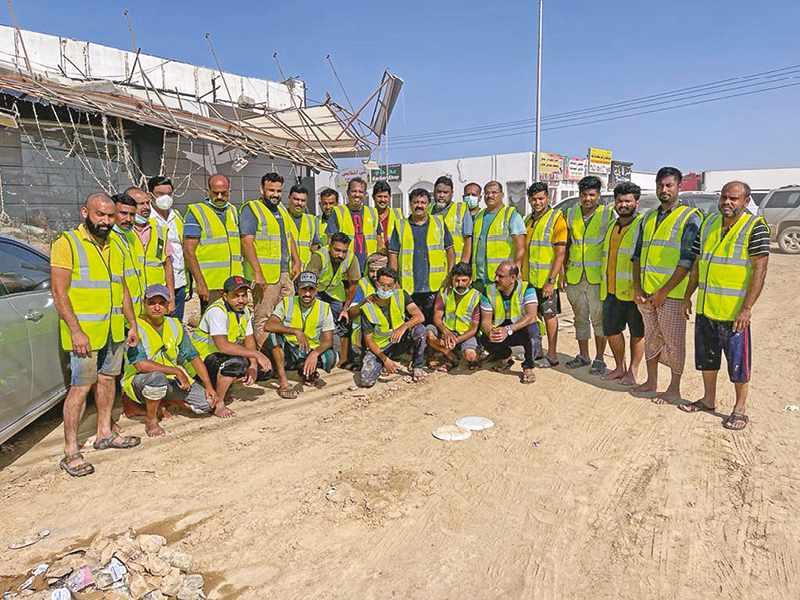 volunteers, indian, cultural, hundreds, affected,
