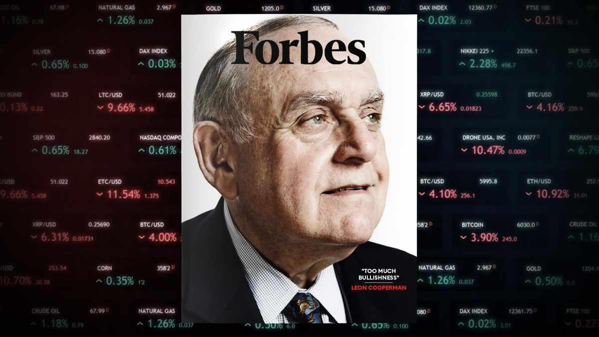 wall-street cooperman market leon billionaire