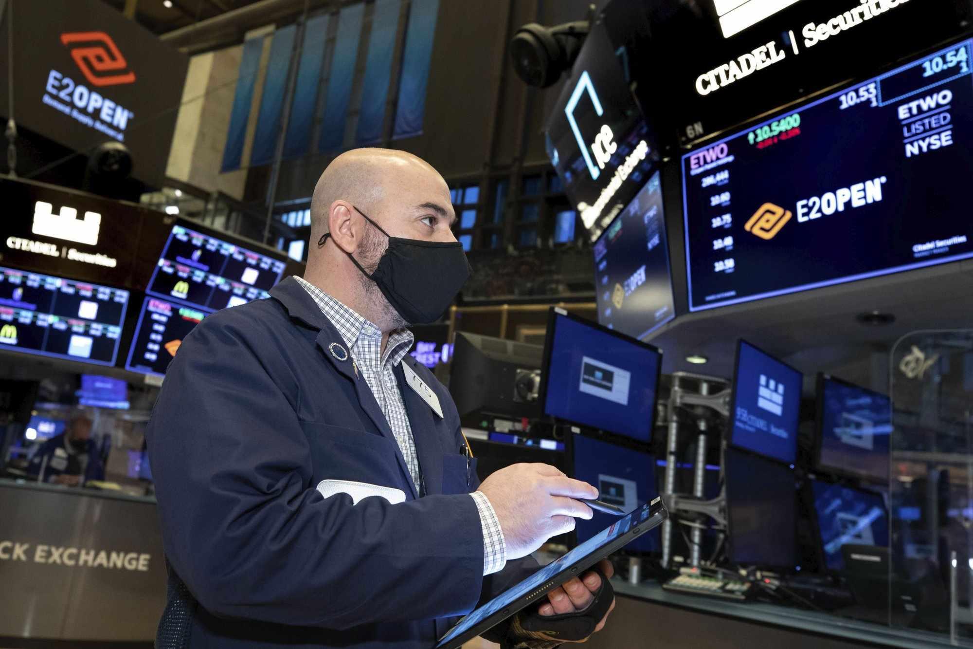 wall-street stocks rose coronavirus corporate