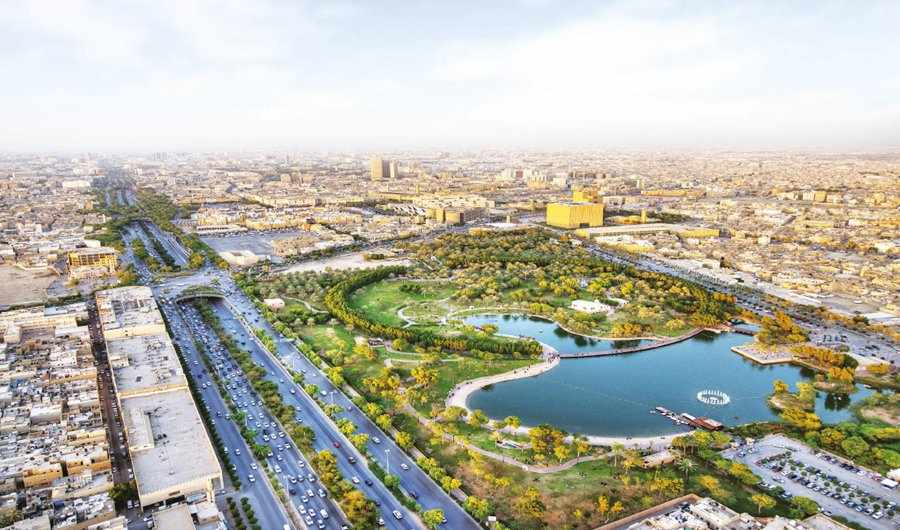 Riyadh Roads Turn Green As World S Largest Urban Greening Project Branches Out Writecaliber