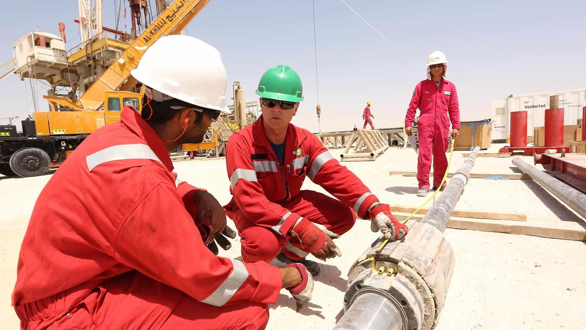 stake gas field