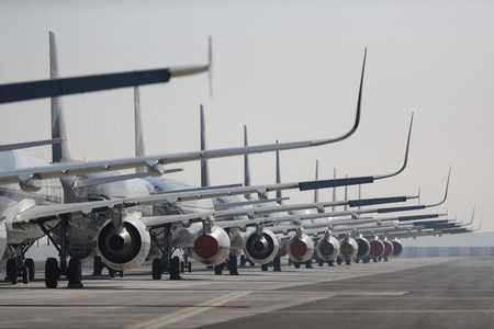 traffic air decline