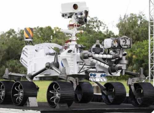 mars rover news