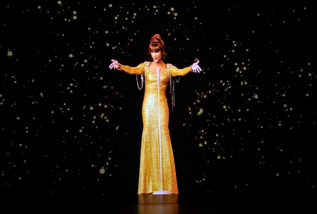 whitney houston hologram concert las