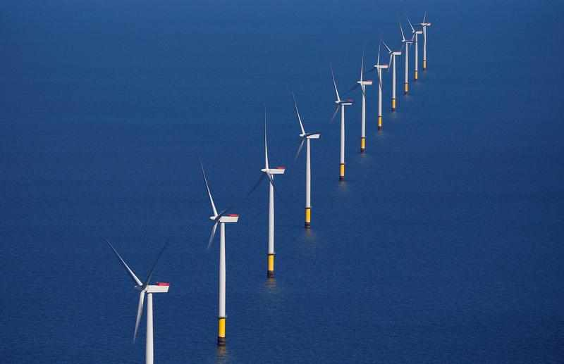 wind power global reuters