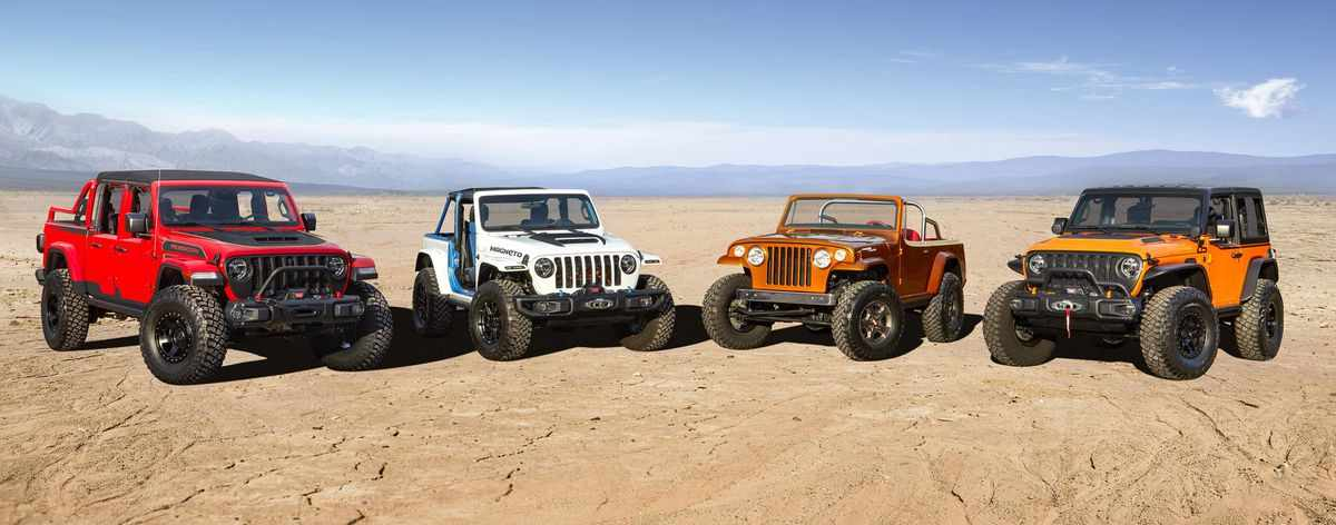 wrangler easter jeepster electric