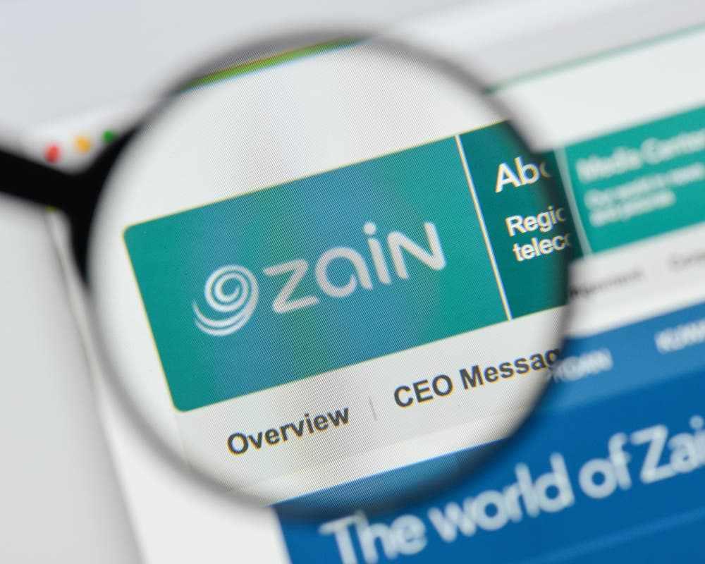 zain group revenues hits