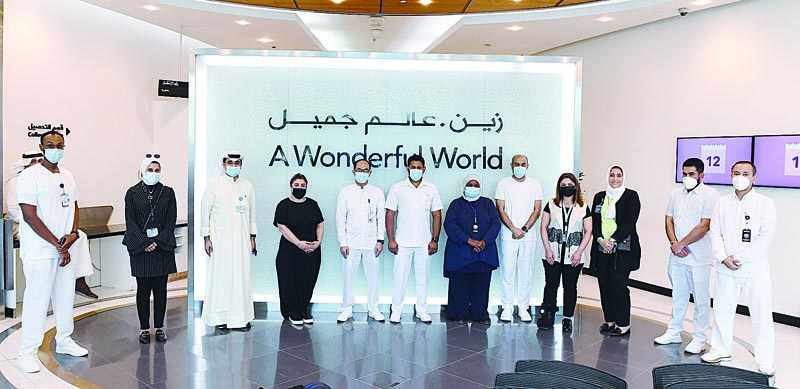 zain, vaccination, campaign, covid, kuwait,